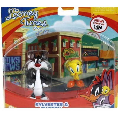 The Looney Tunes Show Figures, Sylvester & Tweety, 2-Pack