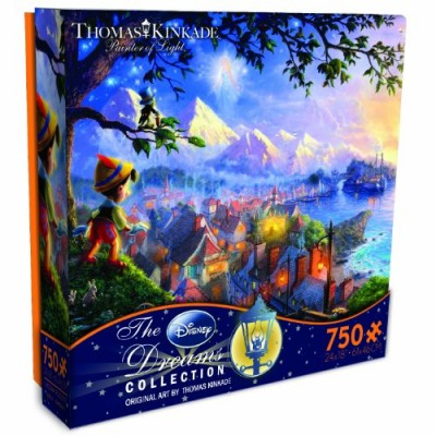 Thomas Kinkade The Disney Dreams Collection: Pinocchio Wishes Upon a Star Puzzle