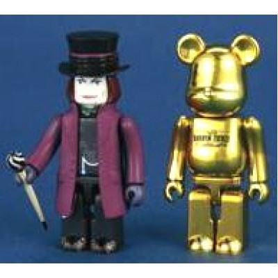 Charlie and the Chocolate Factory Kubrick Be@rbrick 2 piece