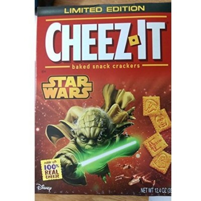 Star Wars Cheez-it Baked Snack Crackers - 2 Pack