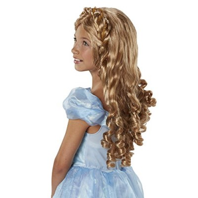 CINDERELLA LIVE ACTION 82060 Ella Royal Locks Wig Costume