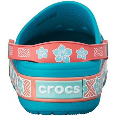 crocs CrocsLights Moana Clog (Toddler/Little Kid), Multi, 13 M US Little Kid