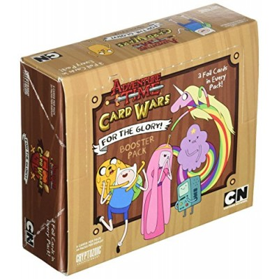 Adventure Time Card Wars Booster Display