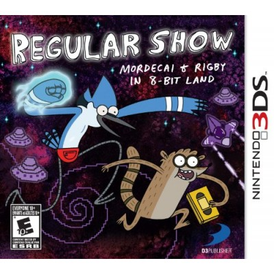 Regular Show: Mordecai and Rigby in 8-bit Land - Nintendo 3DS