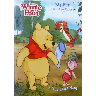 """Disney® Winnie the Pooh """"The Great Hunt"""" Coloring Book"""