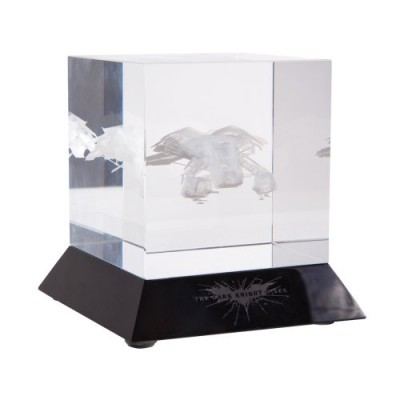 "DC Collectibles The Dark Knight Rises: ""The Bat"" Glass Etching"