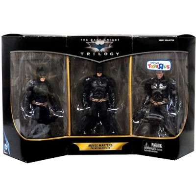 2013 Exclusive Batman the Dark Knight Trilogy Movie Masters Premium Box Set