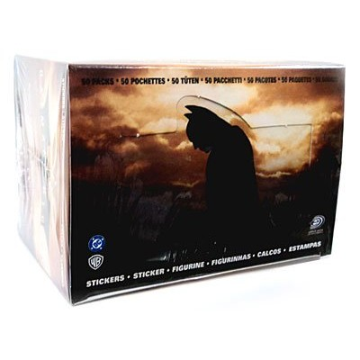 Batman Begins Sticker Box 50 Packs