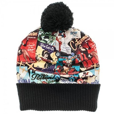 DC Comics Bombshells Sublimated Cuff Pom Beanie