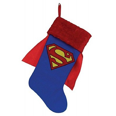 "Dc Comics Superman 19"" Stocking with Cape"