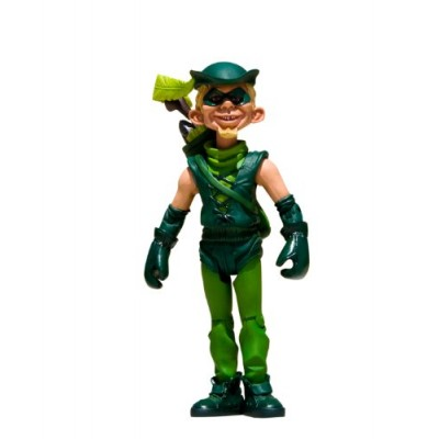 DC Direct Just Us League of Stupid Heroes: Series 1: Green Arrow Action Figure