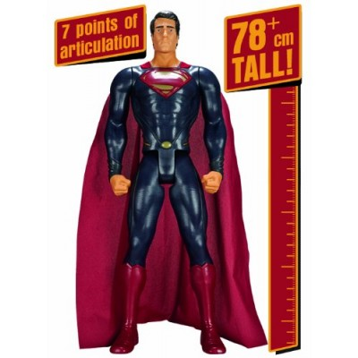 "DC Universe Man of Steel 31"" Action Figure, Giant Size"
