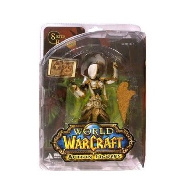 World of Warcraft Series 3 Human Priestess Action Figure
