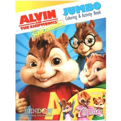 Alvin & the Chipmunks Jumbo Coloring & Activity Book