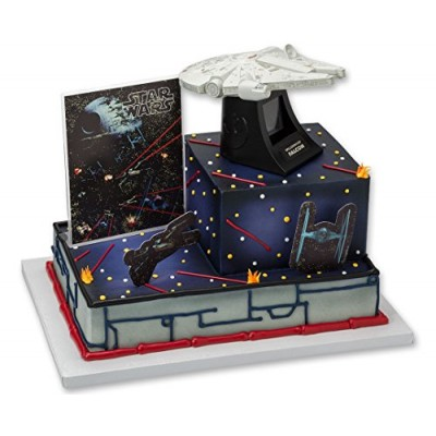 DecoPac Star Wars Millennium Falcon Signature Cake Topper Set