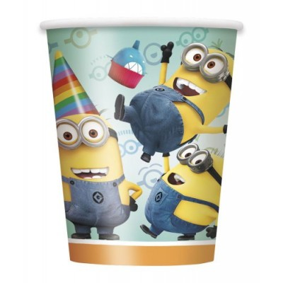 9oz Despicable Me Paper Cups, 8ct