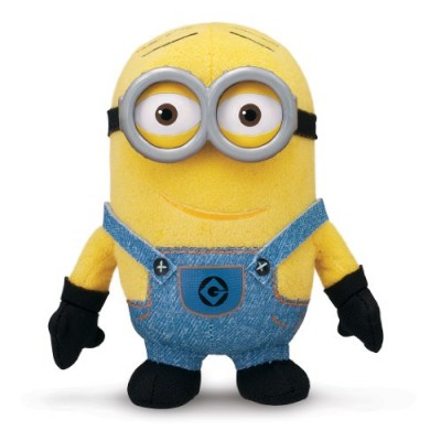 Despicable Me Buddies-Soft Huggable Friends-Minion Dave Plush