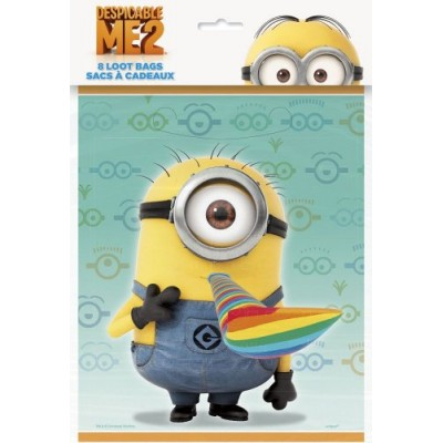 Despicable Me Favor Bags, 8ct