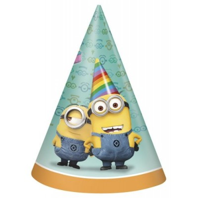 Despicable Me Party Hats, 8ct