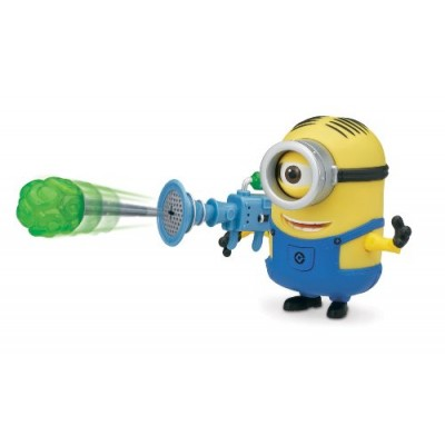 Despicable Me Stuart Deluxe Action Figure with Fart Dart Launcher