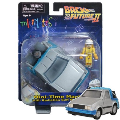 Back to The Future Minimates Time Machine Vehicle