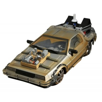 Diamond Select Toys Back to the Future III: Rail-Ready Time Machine