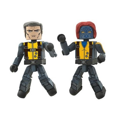 Marvel Minimates XMen First Class Exclusive Mini Figure 2Pack Magneto Mystique