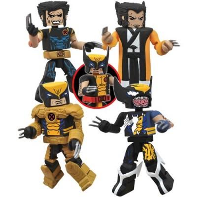 Marvel Universe Minimates The Wolverine Saga Mini Figure Set