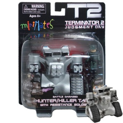 Terminator 2 Judgment Day MiniMates Battle Damaged Hunter/Killer Tank Vehicle