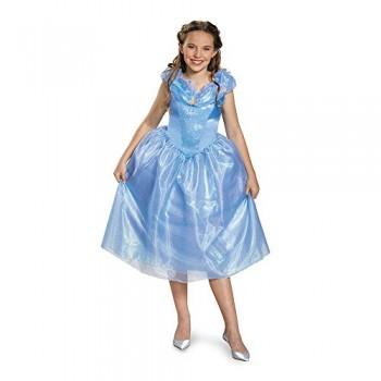 Disguise Cinderella Movie Tween Costume, Medium (7-8)