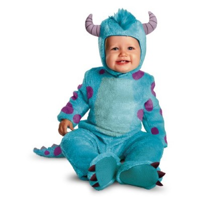 Disguise Costumes Disney Pixar Monsters University Sulley Classic Infant, Blue/Purple, 6-12 Months