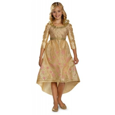 Disguise Disney Maleficent Movie Aurora Coronation Gown Girls Classic Costume, Medium/7-8