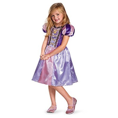 Disguise Disney's Tangled Rapunzel Sparkle Classic Girls Costume, 7-8