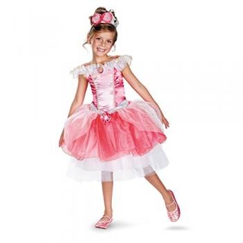 Disguise Girl's Disney Sleeping Beauty Aurora Tutu Prestige Costume, 3T-4T
