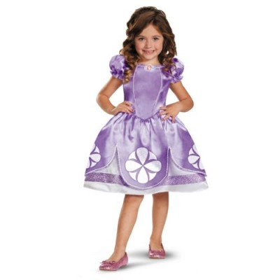 Disguise Girl's Disney The First Sofia Classic Costume, 4-6X