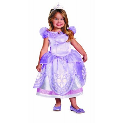 Disguise Girl's Disney The First Sofia Deluxe Costume, 4-6X