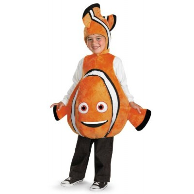 Disney Finding Nemo Costume, Orange/Black, size S/P(4-6)