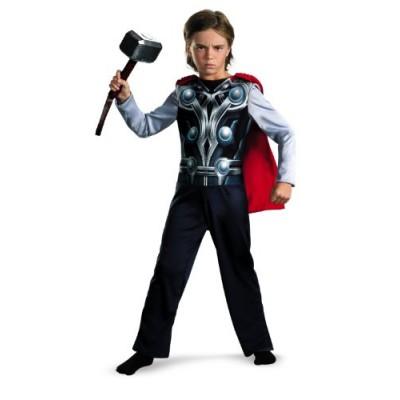 Thor Avengers Basic Costume, Small 4-6