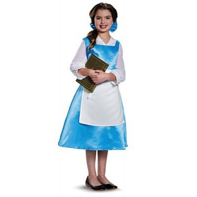 Disguise Belle Blue Dress Tween Disney Princess Beauty & The Beast Costume, Medium/7-8