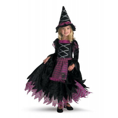 Disguise Fairytale Witch Girls Costume, 4-6X