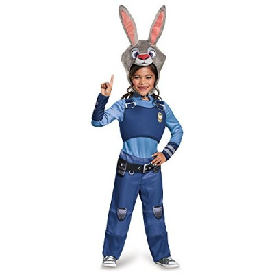 Disguise Judy Hopps Classic Zootopia Disney Costume, Small/4-6X