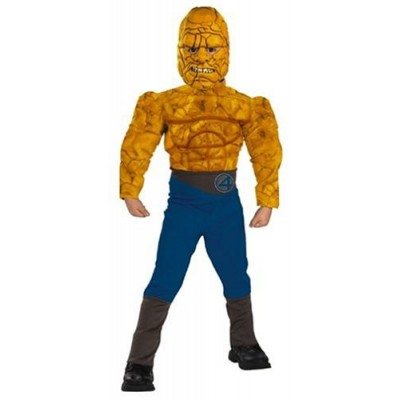 Fantastic Four The Thing Muscle Child Costume: Size 10-12