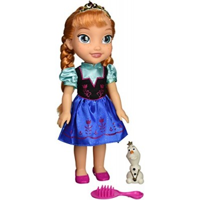 Disney Frozen 31069-1 Toddler Anna Doll with Royal Reflection Eyes