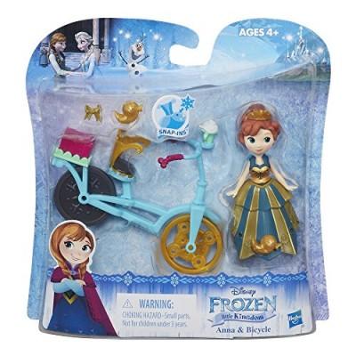 Disney Frozen Little Kingdom Anna & Bicycle