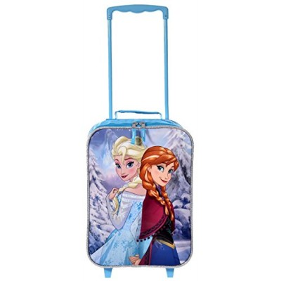 Disney Frozen Rolling Luggage Trolley [Anna and Elsa] ...