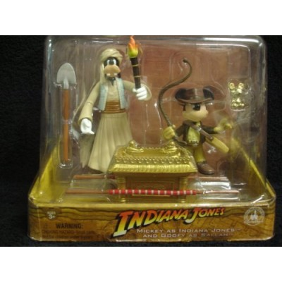 DISNEY PARKS EXCLUSIVE : Raiders of the Lost Ark - Mickey as Indiana Jones & Goofy as Sallah