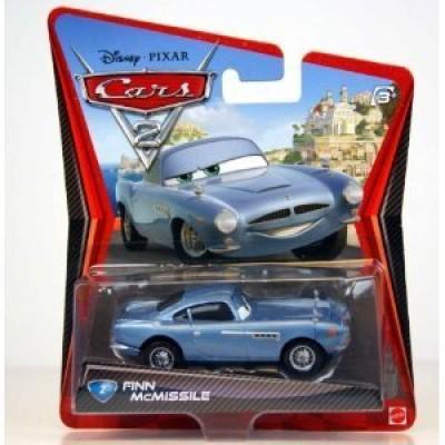 Disney / Pixar CARS 2 Movie 155 Die Cast Car #2 Finn McMissile