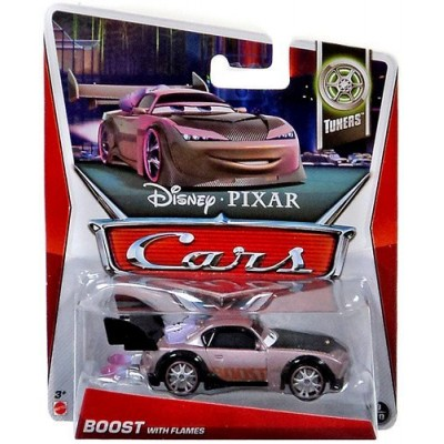 Disney Pixar Cars Tuners Die-Cast Boost with Flames #9/10 1:55 Scale