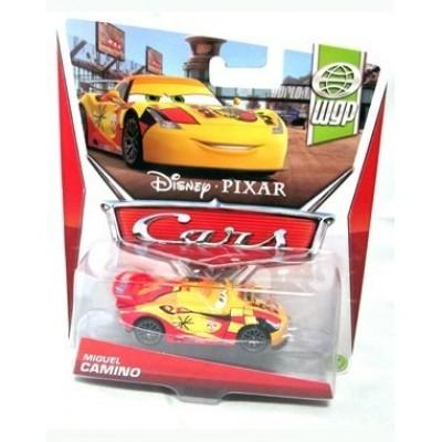 Disney/Pixar Cars, WGP (World Grand Prix) Die-Cast Vehicle, Miguel Camino #7/17, 1:55 Scale