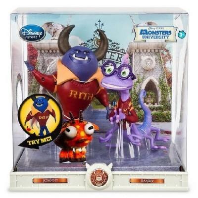 Monsters University Action Figure Set- Johnny & Randy- Disney/PIXAR